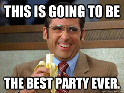 Steve Carrell best party ever meme