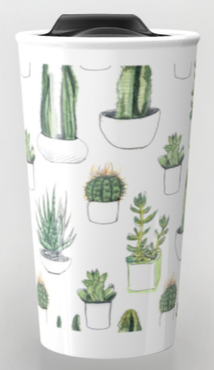 Society6 travel mug